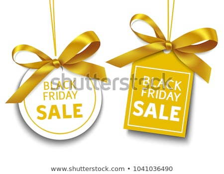 Tag on a white background with the text Sale Stock photo © Zerbor