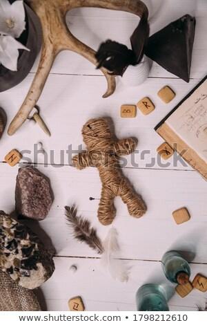 rope voodoo doll Stock photo © Kheat