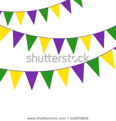 partij · kinderen · ontwerp · verjaardag · achtergrond · oranje - stockfoto © gladiolus