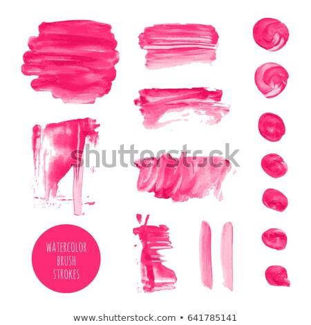 マゼンタ インク ベクトル テクスチャ 塗料 ストックフォト © gladiolus