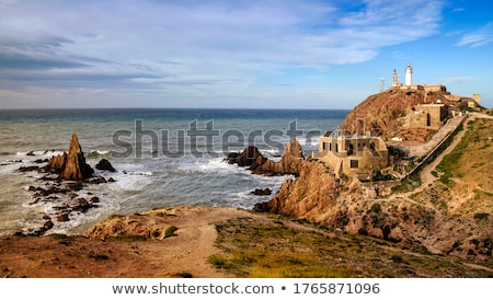 coast of cabo de gata nijar natural park in spain stock photo © nito