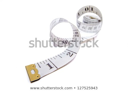 Coil of measuring tape Stock photo © dezign56