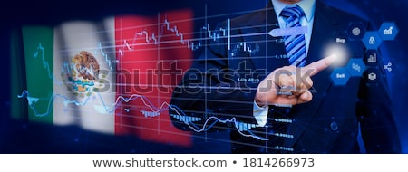 businessman on the grid Stock photo © ambro