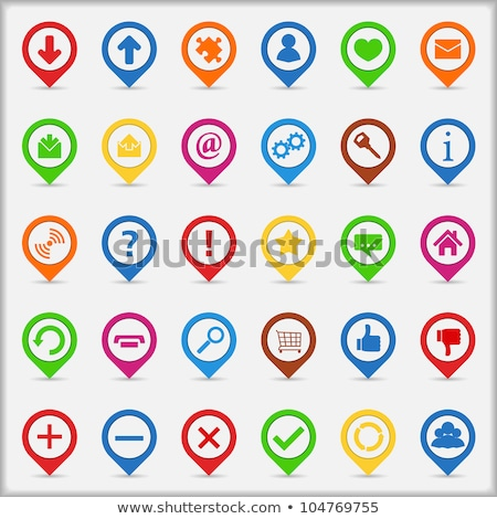 FAQ Green Vector Icon Button Stock photo © rizwanali3d