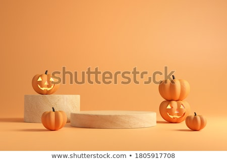 october in 3d cubes stock photo © marinini