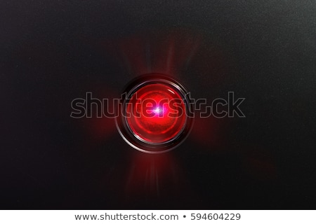 danger button with glowing red lights stock photo © tashatuvango