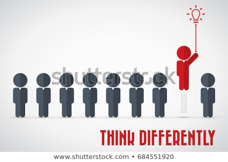 Different Business Thinking Stock photo © Lightsource