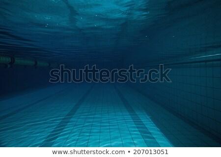 深い 青 スイミングプール 誰も レジャー センター ストックフォト © wavebreak_media