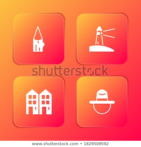glanzend · oranje · telefoon · knop · geïsoleerd · witte - stockfoto © rizwanali3d