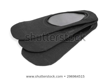 Negro bailarina calcetines blanco moda fondo Foto stock © nito