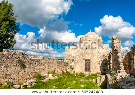 Timiou Stavrou Monastery. Anogyra Village. Limassol District Stock photo © Kirill_M