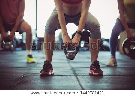 Kobieta człowiek części ciała sportu Zdjęcia stock © amok