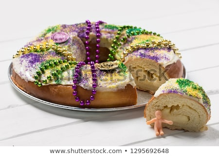 ケージャンの ケーキ 1 スライス フル パン ストックフォト © rojoimages