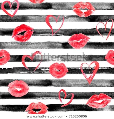 Lèvre lèvres coloré femme Photo stock © Tawng