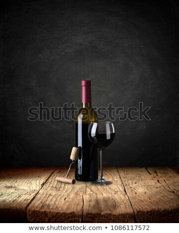 Chalkboard in a wine bar stock photo © pixpack
