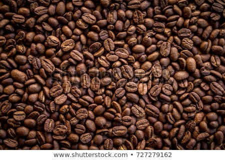 Coffee beans on a saucer Stock photo © CaptureLight