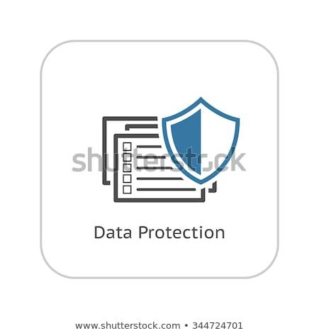 dizayn · veri · güvenliği · gizlilik · güvenlik · veri - stok fotoğraf © wad