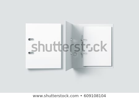 Lever Arch Ring Binder Stock photo © kjpargeter