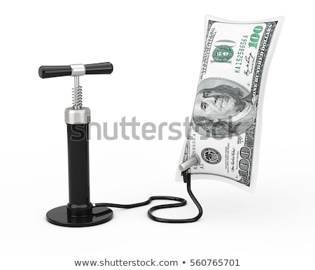 inflation hand air pump stock photo © dcwcreations