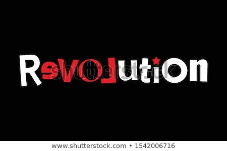 Love revolution Stock photo © Tawng