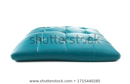 royal black leather pillow 3d stock photo © djmilic