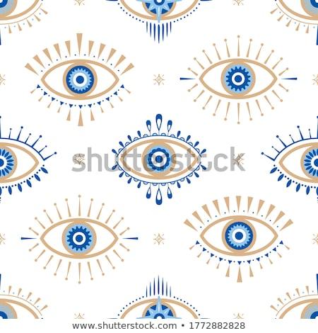 Eye seamless pattern Stock photo © kali