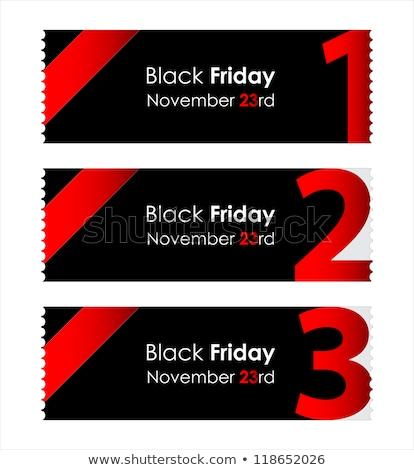 black · friday · promoção · assinar · venda · bandeira · texto - foto stock © sarts