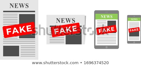 False Advertising Stock photo © Lightsource