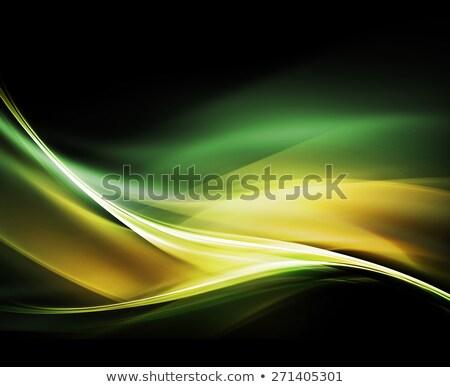 Klassz színes absztrakt hullám forma terv Stock fotó © SArts