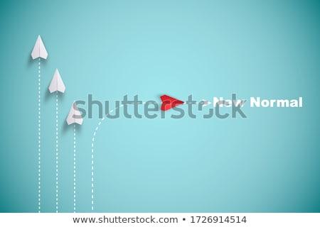 Estrategia de negocios camino carrera camino plan empresario Foto stock © Lightsource