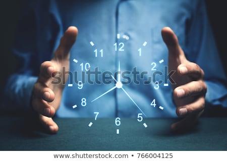 時間 制御 滞在 先頭 はしご ストックフォト © psychoshadow