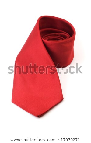 business ties rolled up over white background stock photo © kayros