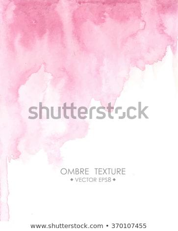 Blauw paars aquarel vlek vector tekst Stockfoto © SArts