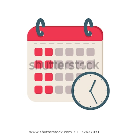 символ · иллюстрация · календаря · Элементы · отдельно - Сток-фото © get4net