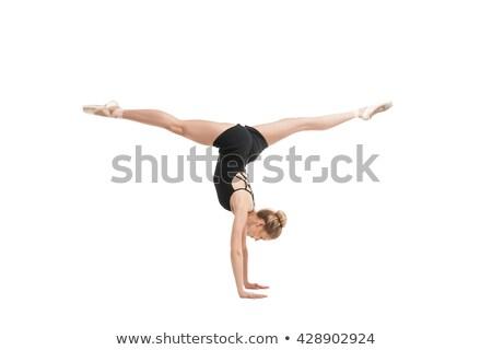 手 背景 バレエ 小さな 人 ストックフォト © julenochek