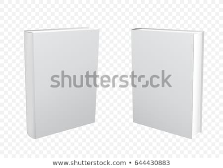 blank book cover set vector realistic stock photo © pikepicture