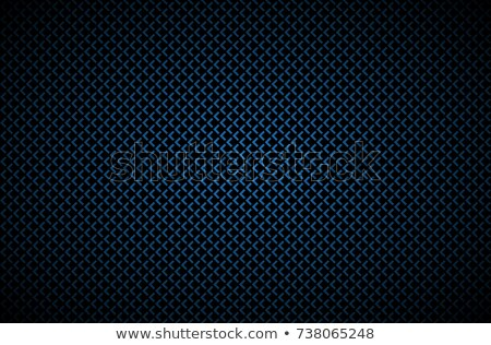 Dark abstract background with grey corners, carbon fiber, vector illustration Stock photo © kurkalukas