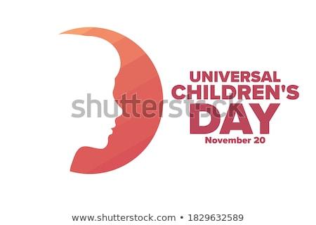 20 uniwersalny dzień kalendarza kartkę z życzeniami wakacje Zdjęcia stock © Olena