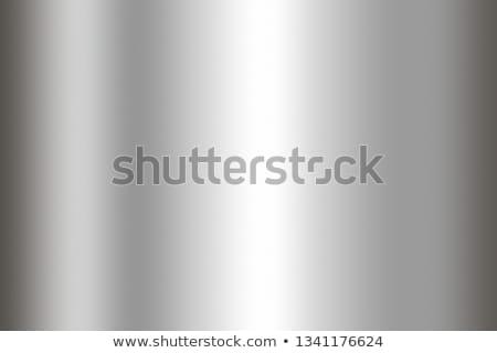 Chroom abstract computer gegenereerde technologie Blauw Stockfoto © zven0