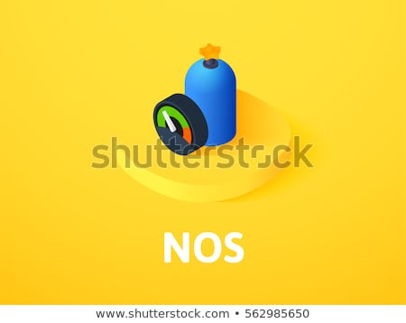 carreras · icono · aislado · color · vector - foto stock © sidmay