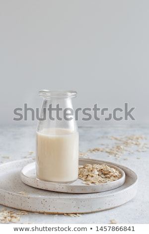 Small Glass Of Oat Milk Stock photo © mpessaris