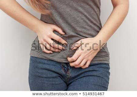 Urinary Tract Infection on White Background Stock photo © bluering