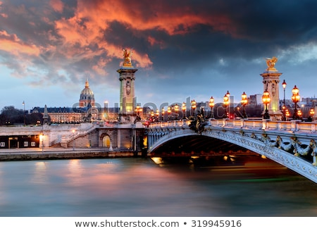 Pont des Arts Stock photo © Givaga