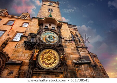 staromestska tower in prague stock photo © givaga