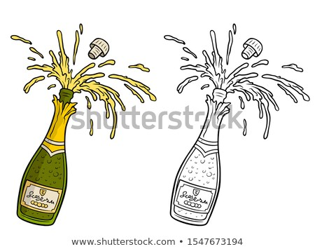 Bêbado desenho animado explosão ilustração olhando Foto stock © cthoman