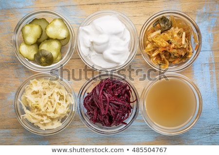 collection of fermented foods stock photo © unikpix