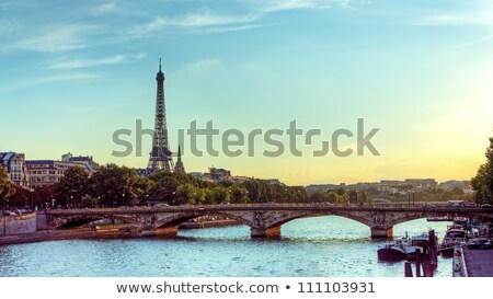 rzeki · piękna · widoku · Paryż · Francja · domu - zdjęcia stock © vapi