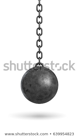 Pendulum on black Stock photo © creatOR76