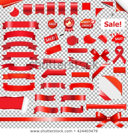 Christmas Sale With Blob Transparent Background Stock photo © adamson