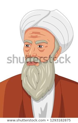 Müslüman örnek tıp öğretmen İslamiyet anlamaya Stok fotoğraf © artisticco